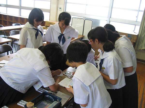 2016年6月松山市立東中学校 体験...